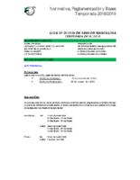 NOREBA 18-19 2º División Sénior masculina