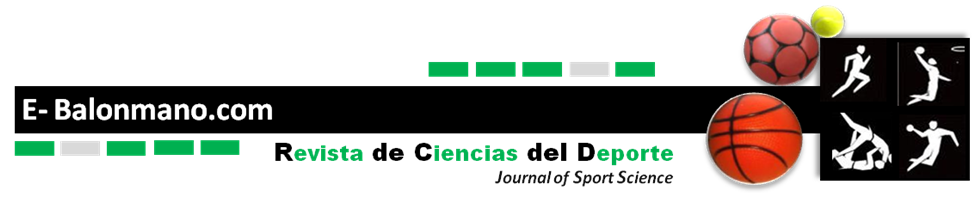 E-BALONMANO.COM: REVISTA DE CIENCIAS DEL DEPORTE